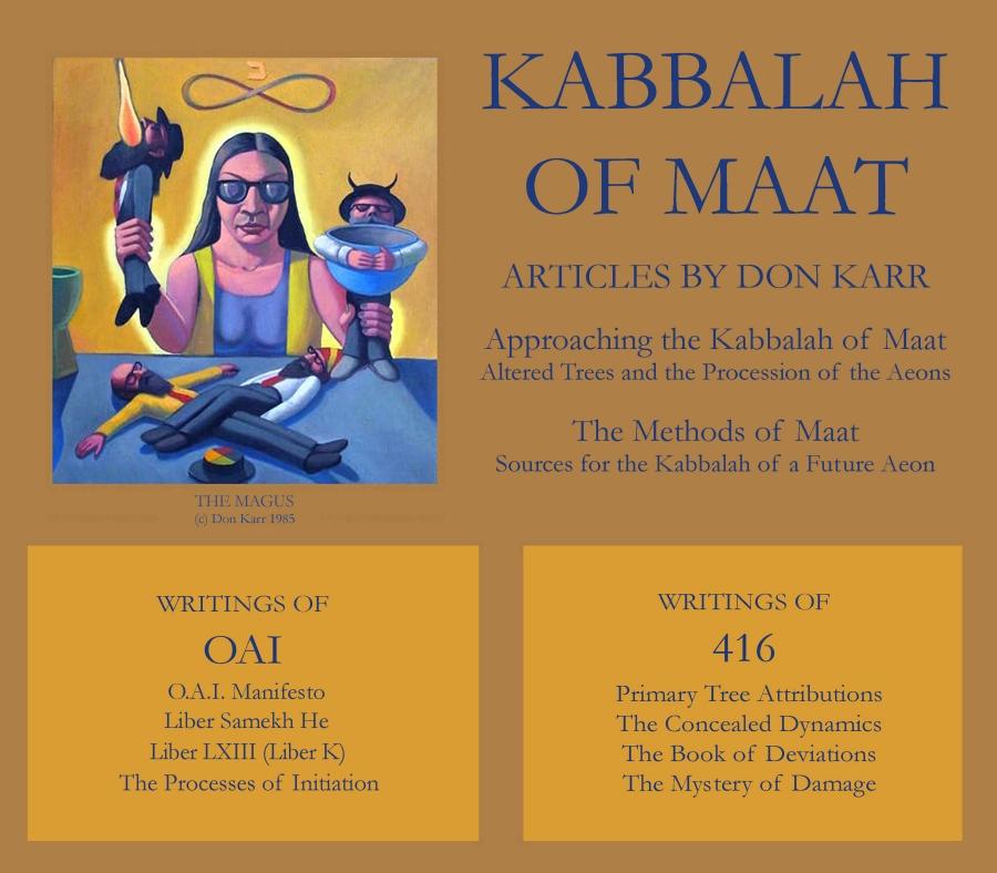 Hermetic Kabbalah: Don Karr's Kabbalah of Maat
